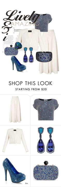 """Party Look#7"" by olmw-1 on Polyvore featuring Temperley London, Coast, BCBGMAXAZRIA, Arunashi and Natasha Couture"