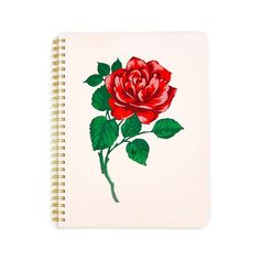 rough draft mini notebook - will you accept this rose? from ban.do