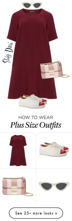 """casual"" by staydiva on Polyvore featuring Manon Baptiste, Le Specs, MICHAEL Michael Kors and Charlotte Olympia"