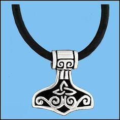 Viking : Thors Hammer Silver/Pewter
