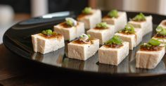 tofu with yuzu soysauce - Chef Reiko Nak