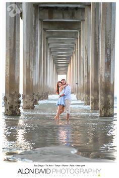 La Jolla Shores Scripps Pier Engagement Session