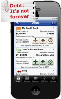 Staying motivated with Pay Off Debt app