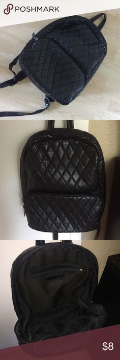 Cute quilted backpack Adorable backpack from Forever 21. Perfect for back to school season! Forever 21 Bags Backpacks