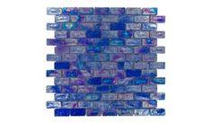 Diamond Tech Tiles | TV411 | Liberty Blue | Tile > Glass Tile