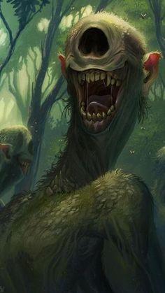 Monster Art, Monster Concept Art, Fantasy Monster, Monster Design, Monster Drawing, Dark Fantasy Art, Fantasy Kunst, Fantasy Artwork, Dark Creatures