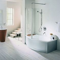 1000 Images About Bathroom Tub Shower Ideas On Pinterest Small Tub Corner