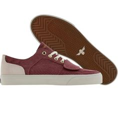 Creative Recreation Cesario Low XVI in Canvas Ropes Maroon