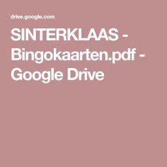 SINTERKLAAS - Bingokaarten.pdf - Google Drive