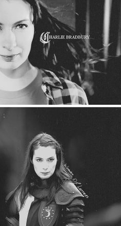 Charlie Bradbury: Woman of Letters #spn. can I just say I LOVE her? seriously, she's close to my new favorite character.
