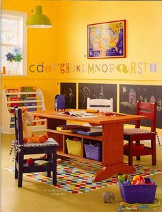 I have to transform the kids toyroom to this.....their toys r outta control!