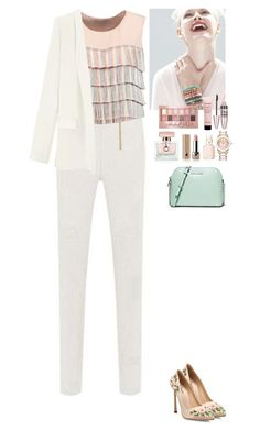 """""""Spring outfit TOMTOP"""" by eliza-redkina ❤ liked on Polyvore featuring Alexis, Giambattista Valli, GINTA, Maybelline, Gucci, Givenchy, Marc Jacobs, Essie and MICHAEL Michael Kors"""
