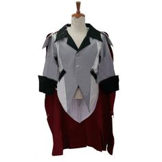 2017 RWBY Qrow Branwen Cosplay Costume Adult Halloween Carnival Outfit Clothing Custom Made Coat+Cloak