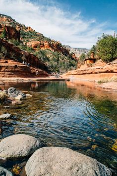 The Ultimate Guide to Sedona's Swimming Holes   Slide Rock State Park