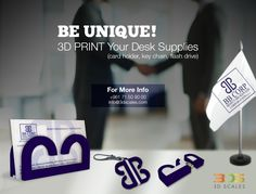 BBcorp desk supplies #3Dscales #3Dprinting