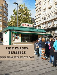 Frit Flagey, Brussels - S Marks The Spots Blog #seemybrussels