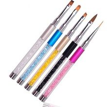 20PCS/Set Nail Art Pens Painting Drawing Polish Brush Tools Design Dotting Women Wholesale //FREE Shipping Worldwide //