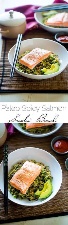 Paleo Pecan Salmon Roll