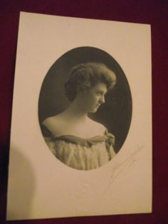 Antique Picture Antique Photo Pretty Lady by KathysRetroKorner, $6.00
