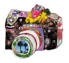 need one - get an old camera at Thrift and paint.