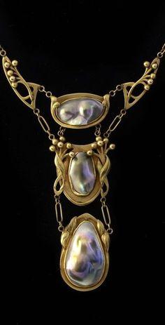 biżuteria secesja, blog historia, blog historyczny