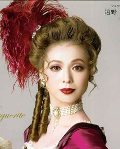 19th Century Makeup | petticoats spoiler the dress spoiler the hair and make up