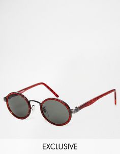 Image 1 ofReclaimed Vintage Round Sunglasses
