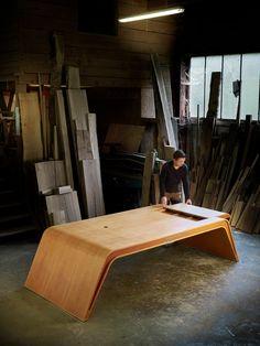 Design Crafts, Decor Crafts, Executive Office Desk, Cabinet D Architecture, Desk Set, Credenza, Office Furniture, Design Table, Product Design