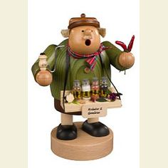 Spice trader   - German Incense Smoker by KWO Olbernhau