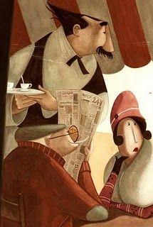 illustrations by quenalbertini - Daniela Volpari illustration-via danielavolpari.blogspot...