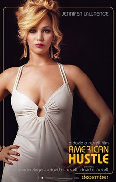 American Hustle Rosalyn Jennifer Lawrence Movie Poster 11x17