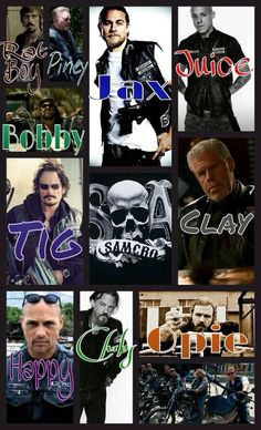 Photo take from Sons of Anarchy fans Facebook page :)