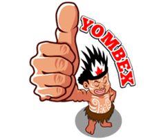 Pace and Mace Papua by Arif Hakim-Arnes-Indra (Branch Jayapura) sticker Cartoon Jokes, Cartoon Art, Emoticon, Emoji, Indonesian Language, Gado Gado, West Papua, Samurai Tattoo, Line Store