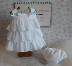 "Azul y Rosa Artesanía Infantil, línea clásica. Azul y Rosa Artesanía Infantíl ""Moda Bebé e Infantil"" WhatsApp: (+34..."