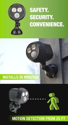 30 best security lighting images on pinterest security lighting do it yourself wireless home safety and security aloadofball Choice Image