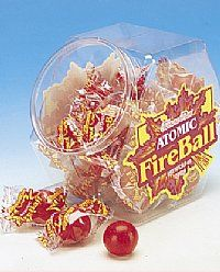 Atomic Fire Balls Candy Jar, 140ct.