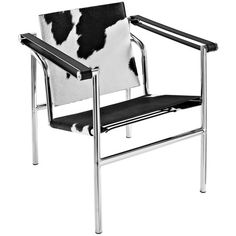 Modway Furniture Charles Pony Hide Lounge Chair Black And White By ($504) ❤ liked on Polyvore featuring home, furniture, chairs, accent chairs, british campaign furniture, black white furniture, black and white accent chair, black and white chair and black white chair