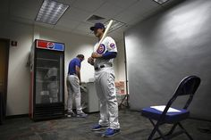 Cubs first baseman Anthony Rizzo on photo day during Spring Training