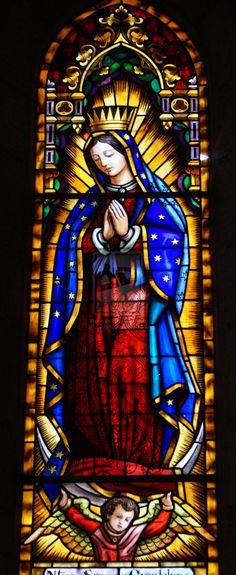 Virgen de Guadalupe by Meldelen • So Beautiful!