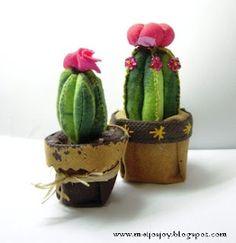 Cactus Pincushion - tutorial