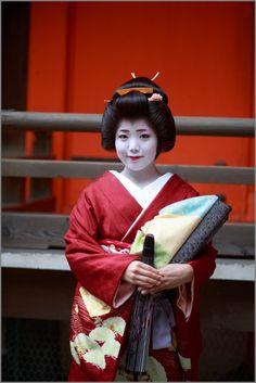 Geiko Ayano, I remember seeing her dance at Setsubun when she was a Maiko.  Gion Kobu
