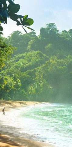 The beach in Trinidad & Tobago