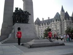 Tomb of the Unknown Soldier (in French: Tombe du Soldat inconnu) at the National War Memorial, Ottawa, Canada. Capital Do Canada, Tomb Of Unknown Soldier, Ottawa Ontario, Ottawa Canada, Canada 150, Great Places, Places To See, Montreal, Lest We Forget