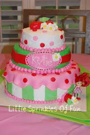 strawberry shortcake cake - Google Search