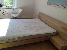 Bett neuwertig 160x200cm in Birke, gern inkl Lattenrost und Matratze