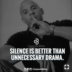 Silence is better than unnecessary drama. Wisdom Quotes, Quotes To Live By, Me Quotes, Motivational Quotes, Inspirational Quotes, Drama Quotes, Strong Quotes, Positive Quotes, Positive Life