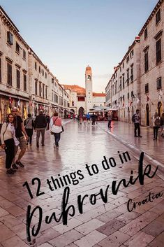 Dubrovnik, Croatia is the Pearl of the Adriatic and there are so many things to do in the beautiful walled city in any season. #balkans #europe #dubrovnik #thingstodo #croatia #travel #city #walledcity #mediterranean #adriatic #sea #coastal #medieval
