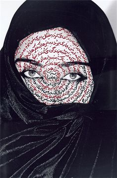 """I AM ITS SECRET,"" FROM THE SERIES 'WOMEN OF ALLAH', 1993  by Shirin Neshat; photography"
