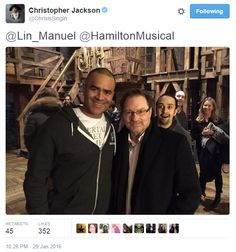 Chris Jackson on Twitter LOOK AT LIN'S FACE IN THE BACKGROUND I CAN'T