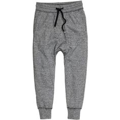 Sweatpants 199,- ($20) ❤ liked on Polyvore featuring activewear, activewear pants, elastic sweatpants и sweat pants